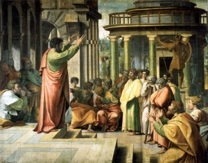 Gospel preached by Paul at Athen