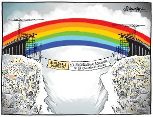 The Rainbow Nation Bridge